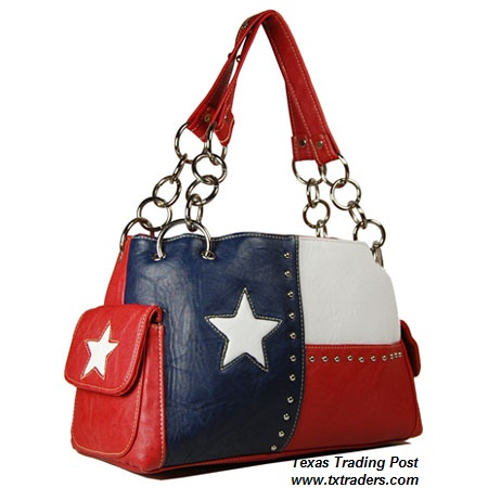 Texas Flag Purse - Texas Ladies Purse