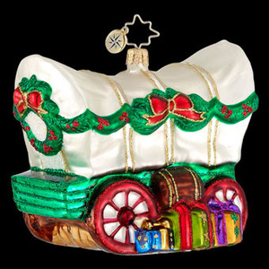 Christopher Radko Go West Christmas Ornament