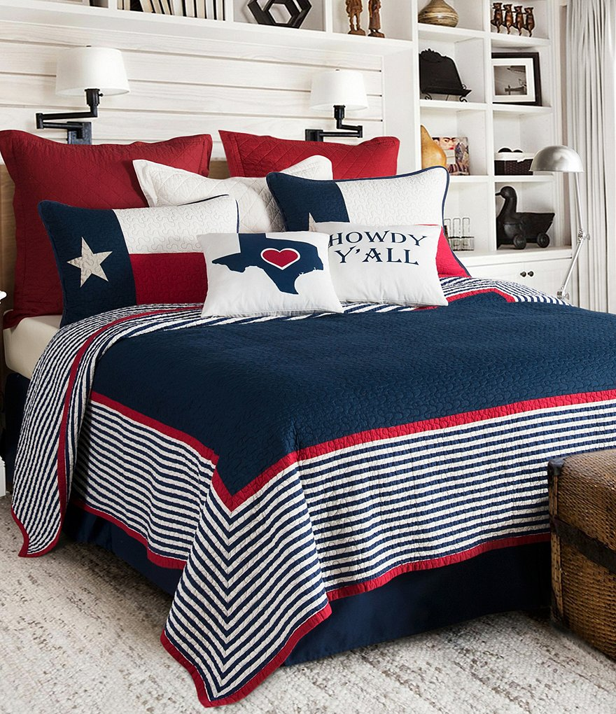 Texas Bedroom Decor, Bedspreads and Bedding