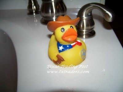 Texas Cowboy Rubber Ducky