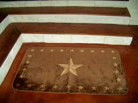Rustic Star Rug - For your Texas Decor
