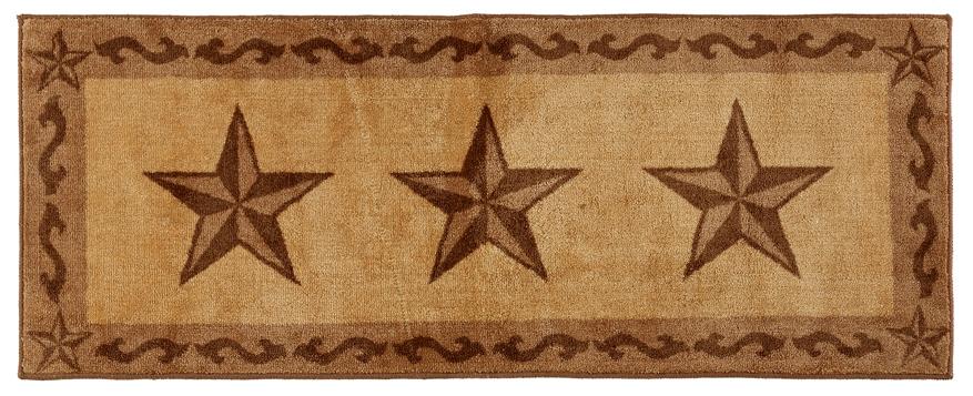 Texas Lone Star Chocolate Rug 24