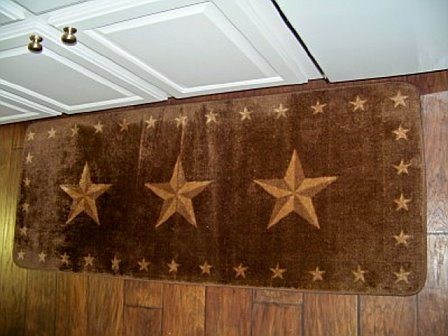Rustic Star Rugs Home Decor