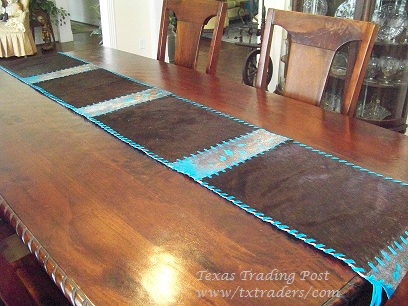 Texas Cowhide Rugs Table Runners Coasters