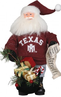 Texas Aggie Santa - Texas A&M Christmas Santa