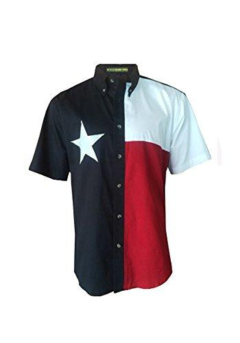 Texas Flag Men's Short Sleeve Shirt