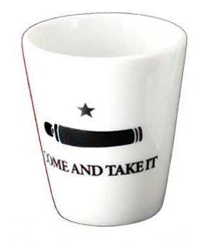 Shot Glass  - Ceramic Come and Take It