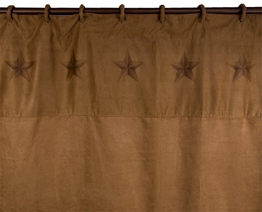 Beautiful Shower Curtain A Rustic Texas Lone Star