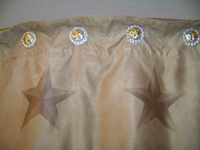 Texas Ranger Star Shower Hooks