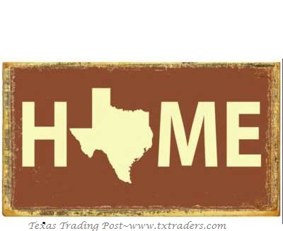 Texas sign Home