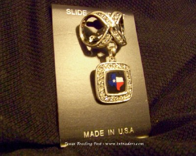 Blingy Texas Map Slider for your Scarves
