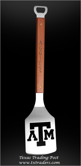 Sportula Texas Aggies - Great Tailgate or BBQ Cookoff Spatula