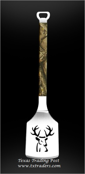 Sportula Camo Buck - Great Tailgate or BBQ Cookoff Spatula
