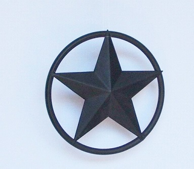 Texas Lone Star Decoration with Solid Wire