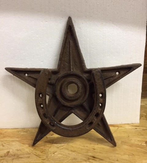 Texas Horseshoe & Lone Star Door Knocker