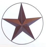 Texas Lone Star with Circle Wire