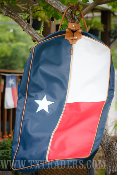 Texas Flag Garment Bag