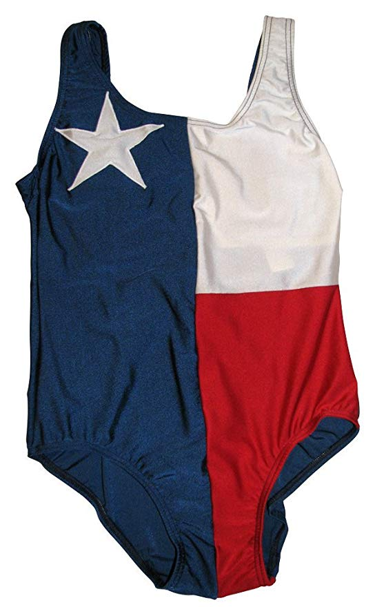 Texas Flag Swimsuit-One Piece