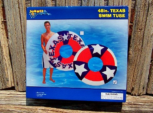 Texas Swim Tube