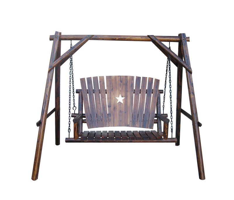 Texas Porch Swing with A Frame