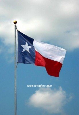 Battle Flag of Texas - State of Texas Flag - 3rd Republic Flag