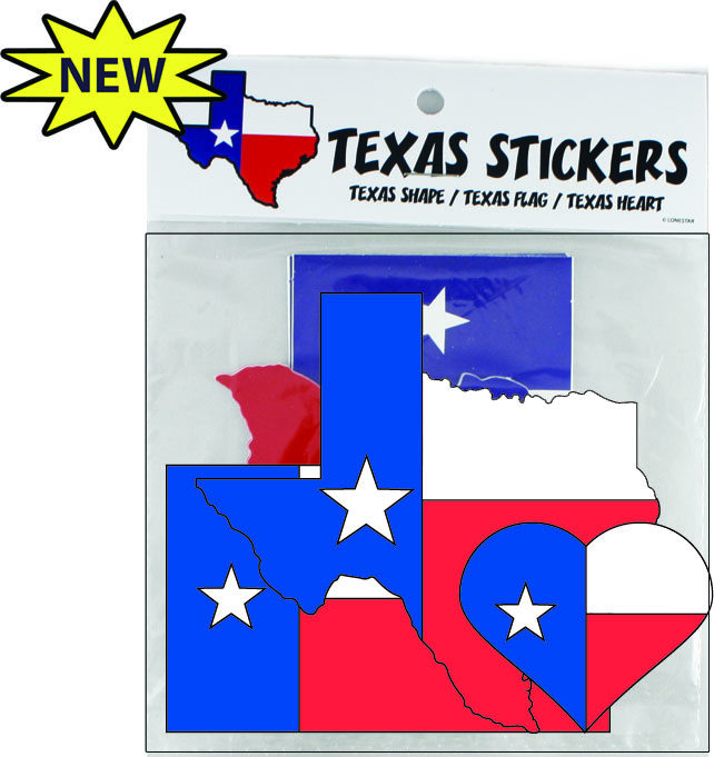 Texas Stickers and Decals