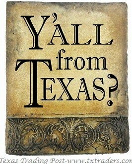 Hand Cast Stone - Y'all From Texas?  Made in Texas by Texans