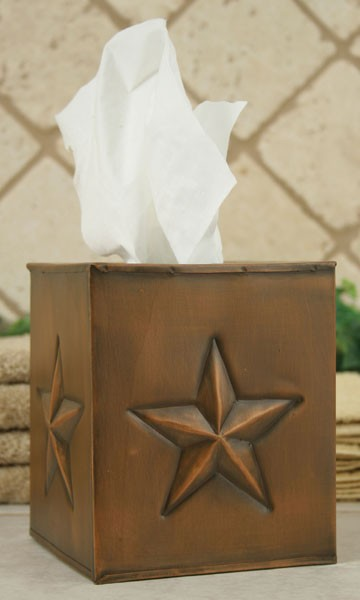 Texas Lone Star Tissue Box Cover