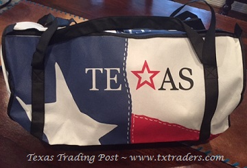 Texas Flag Lightweight Duffel Bag