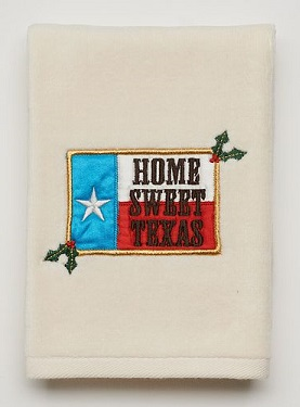 Christmas Texas Hand Towels (2) - Home Sweet Home