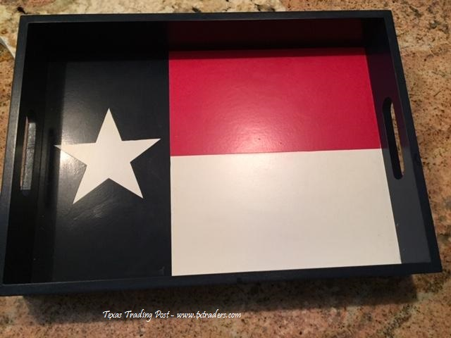 Texas Size Texas Tray for your Texas Entertaining