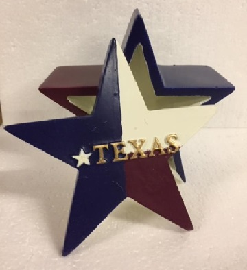 Texas Lone Star Trinket Box