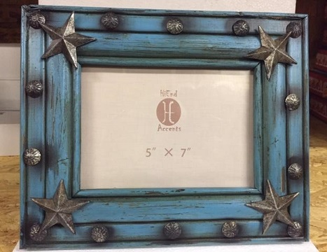 Texas Picture Frame with our Texas Lone Star