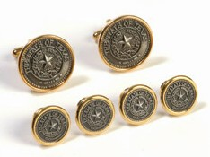 Cufflink and Tux Set - Texas State Seal