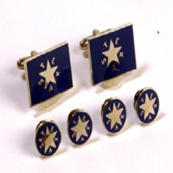 Cufflink and Tux Set - First Republic Star of the Republic of Texas