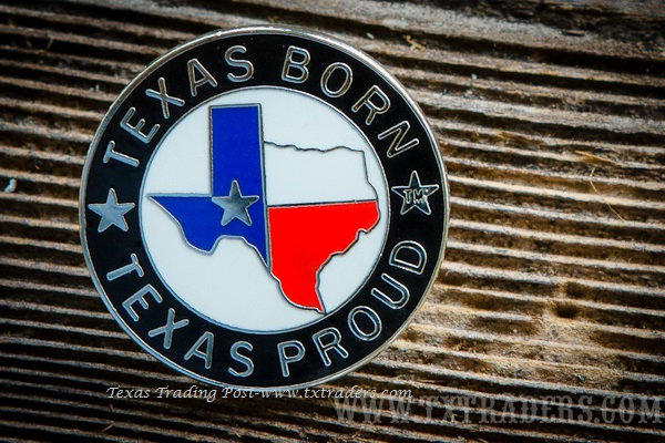 Lapel Pin Texas Born, Texas Proud