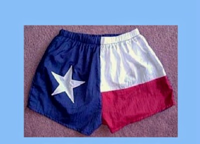 Texas Flag Jogging Shorts
