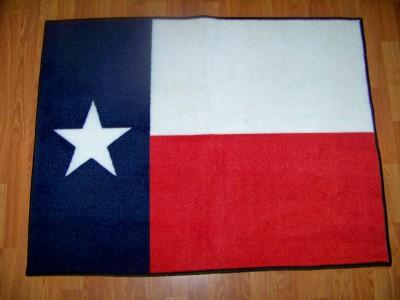 A Texas Size Texas Flag Mat