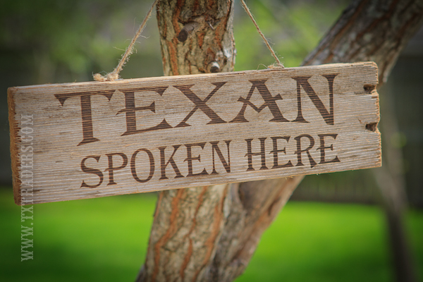 Texas Sign - Texan Spoken Here