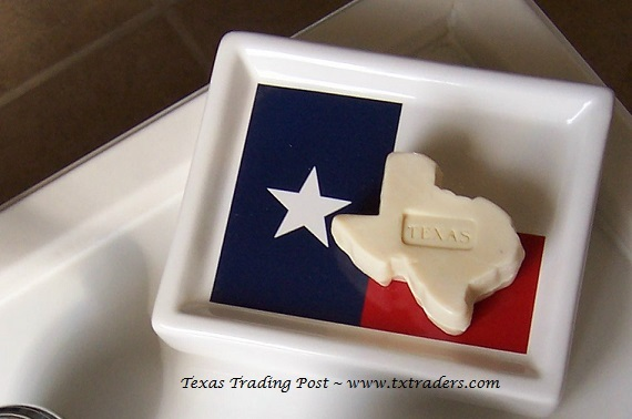 Texas Shaped Guest Soap - Set of 3