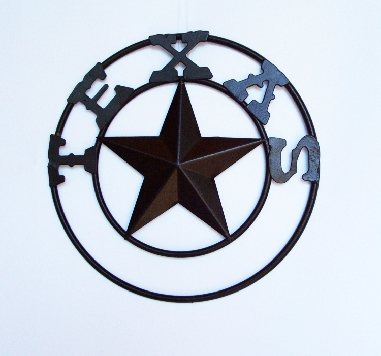 Texas Lone Star with TEXAS