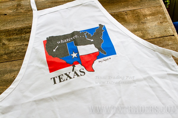 Whatever - Texas BBQ Apron