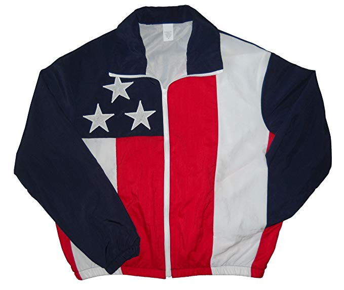 American - USA Flag Lined Jacket