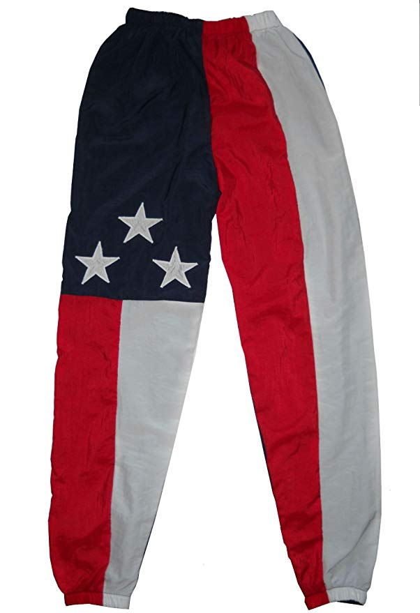 American Flag Nylon Pants
