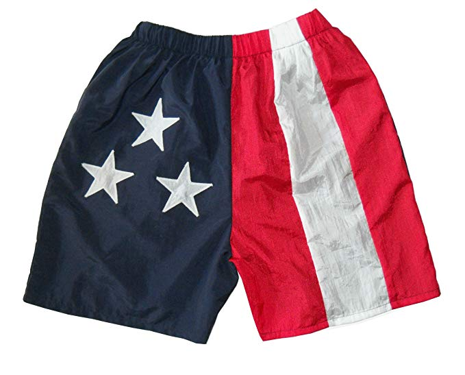 American - USA Flag Walking Shorts