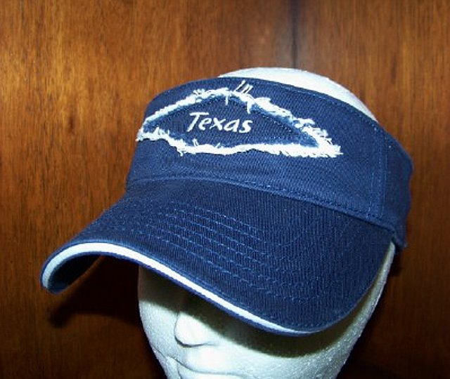 "Visor with ""TEXAS"" patch"