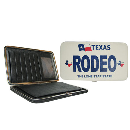 "RODEO"" Frame Wallet-Great Texas Billfold"