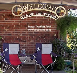 Welcome Texas sign