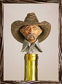 Boozer - Texas Wine Stopper