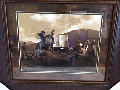 Wranglers Around the Camp Fire - Western Wall Decor